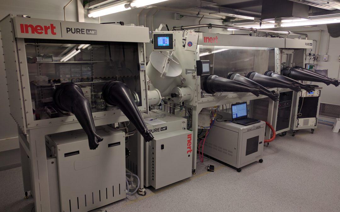 Caja de Guantes PureLab HE 4GB & 2GB – Instituto Ciencias Fotónicas (ICFO)