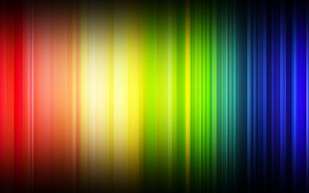 espectro electromagnetico visible