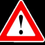 Simbolo advertencia amarillo