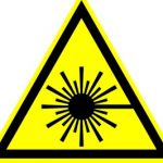 icono peligro laser